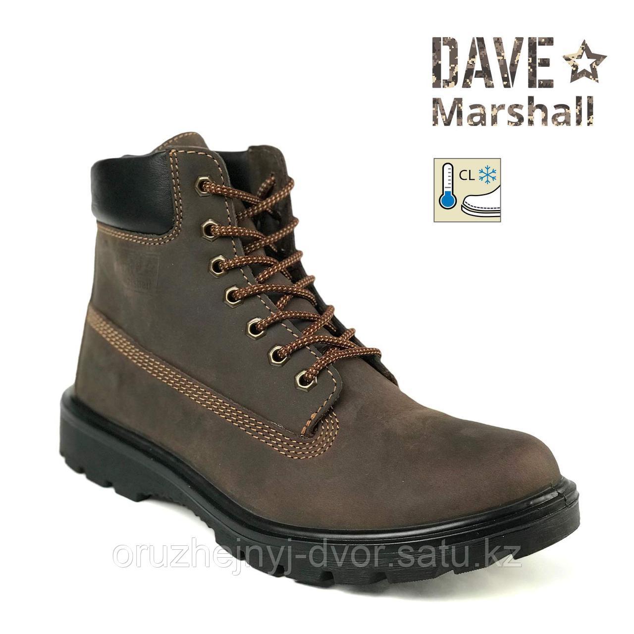 """Ботинки DM DAKOTA B-6""""AL нубук, шерст.мех, цв т-коричневый р.41, 42"""