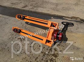 Тележки гидравлические 2500 кг., б/у, фото 3