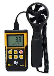 Цифровой анемометр TD8901 с выносной крыльчаткой