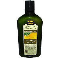 Кондиционер с эф. маслом лимона для жирных волос