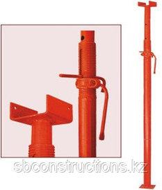 Аренда стойки телескопические 4.5 м для опалубки перекрытия (струбцины, домкраты)