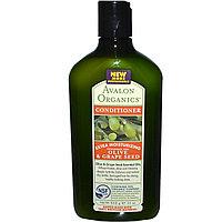 Экстра увлажняющий кондиционер с маслом оливы для сухих волос.