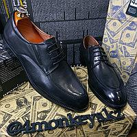Мужские кожаные туфли, фото 1