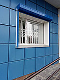 Раздвижные решётки  на двери, фото 2