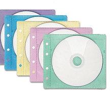 Конверт для 2 CD дисков с перфорацией, 5 цветов,