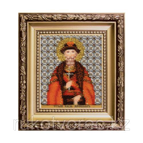 Икона святой благоверный князь Ярослав Мудрый Б-1199 Чарiвна Мить