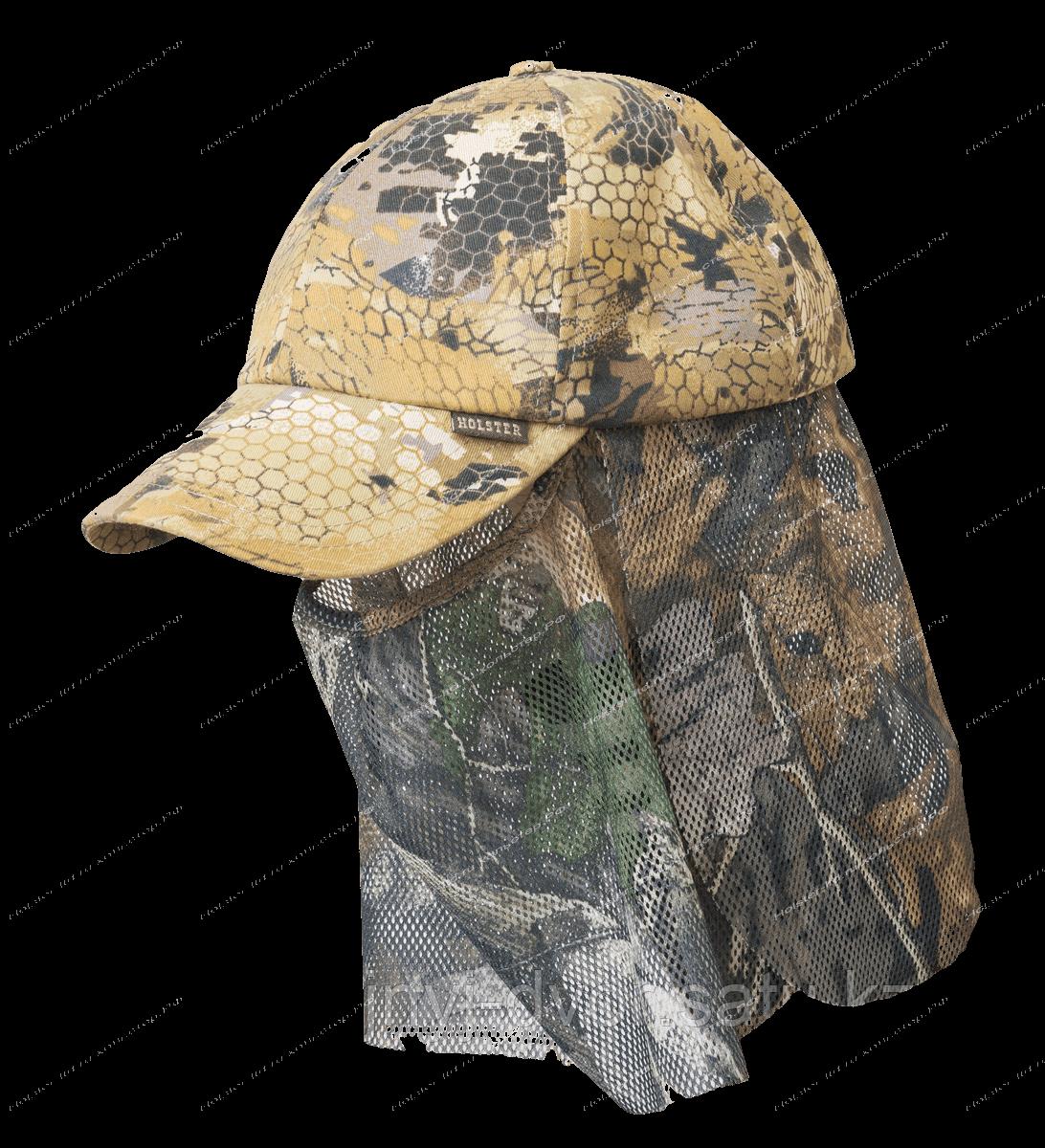 Бейсболка Охотник смесовая ткань / соты, 59-60