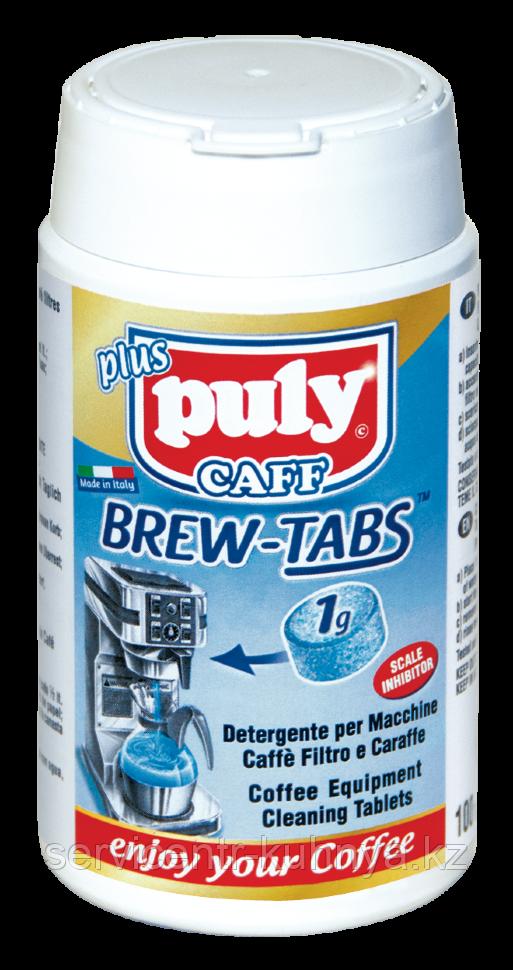 Средство для чистки всех типов брюеров, фильтровальных кофеварок и термосов-накопителей в таблетках Puly Brew