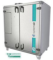Компактные вертикальные агрегаты с пластинчатым теплоутилизатором TX