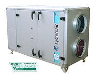 Компактные горизонтальные агрегаты с пластинчатым теплообменником TOPVEX SX
