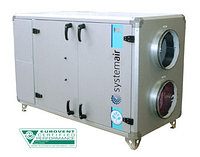 Компактные горизонтальные агрегаты с роторным теплообменником TOPVEX SR