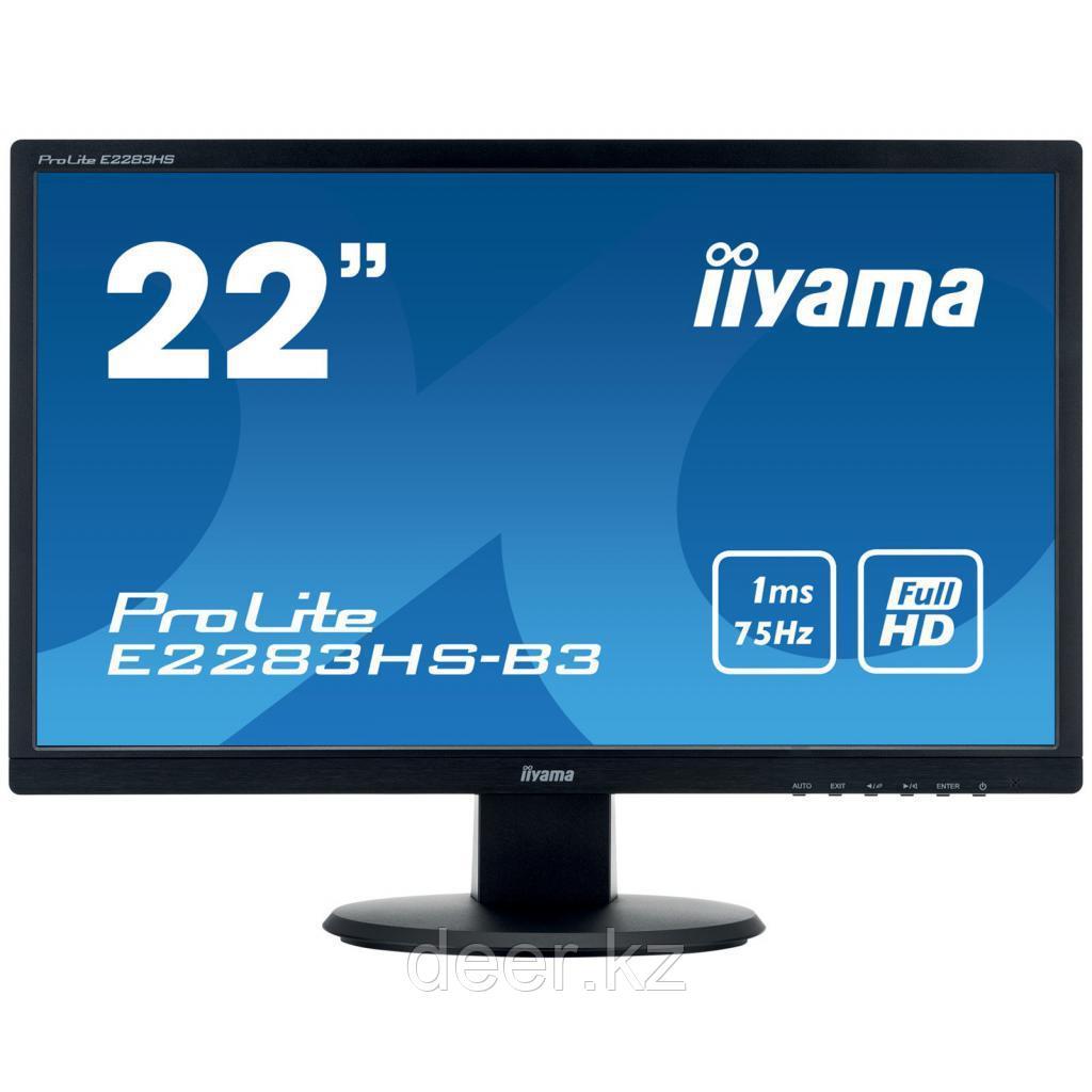 Монитор E2283HS-B3 Iiyama LCD 21.5'' 16:9 1920х1080 TN