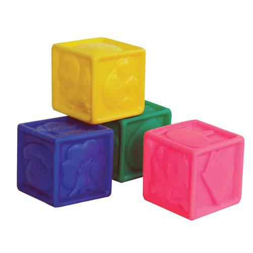 """Набор Резиновых игрушек """"Кубики"""""""