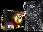 Обзор материнской платы Gigabyte H110-D3A