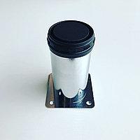 Ножка мебельная цилиндр хром 50*100 мм
