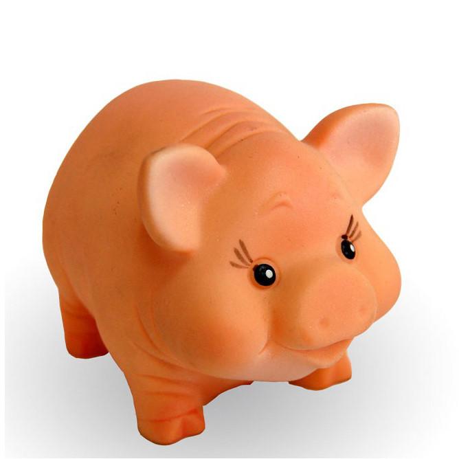 """Резиновая игрушка """"Свинка Феня"""""""