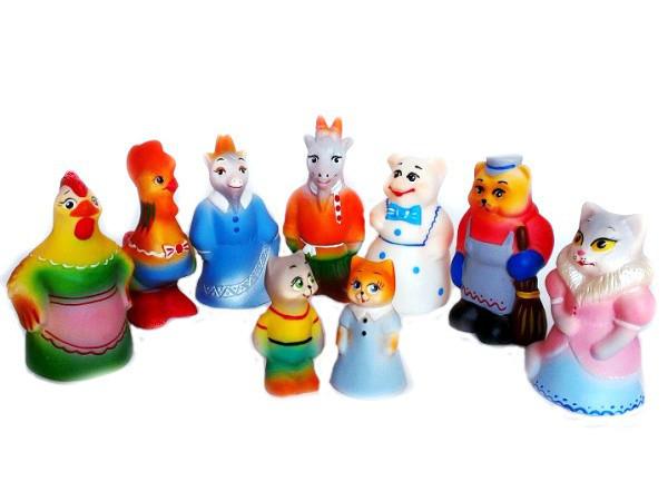 """Набор Резиновых игрушек """"Кошкин дом"""""""