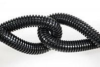 DKC Труба гофр. DN48мм, ПВ-0, Dвн 47,4 мм, Dнар 54,5 мм, полиамид 6, цвет тёмно-серый, без протяжки, фото 1