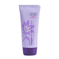 CELLIO  Collagen  Whitening Sun Cream 50+/PA-Антивозрастной коллагеновый солнцезащитный крем