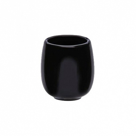 Чашка 190 мл черная керамика арт.7086(BLK)