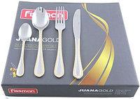 3187 FISSMAN Набор столовых приборов Juana gold золотистый 24 пр. (нерж. сталь)