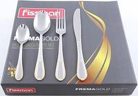 3189 FISSMAN Набор столовых приборов Frema gold золотистый 24 пр. (нерж. сталь)