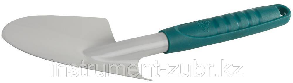 """Совок посадочный RACO """"STANDARD"""" широкий с пластмассовой ручкой, 320мм"""