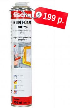PUP B3 750 Однокомпонентная пистолетная монтажная пена fischer