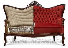 Реставрация,перетяжка,обивка антикварных мягкие мебели