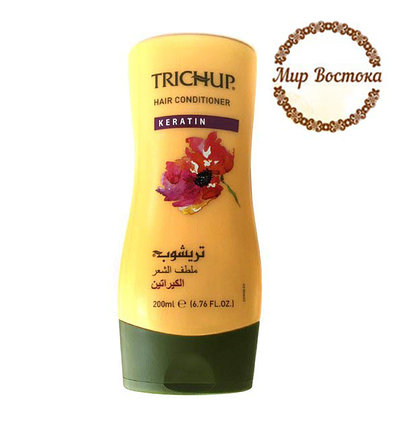 Кондиционер для волос Тричап с кератином Trichup Keratin (Тричуп 200 мл), фото 2