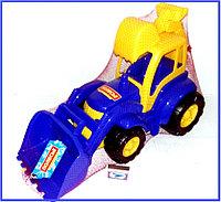 Машина Трактор Погрузчик синий, Полесье