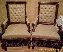 Перетяжка,ремонт,обивка стулья:барные,офисные,скамейки.
