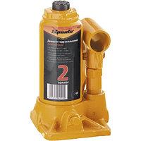 Домкрат гидравлический бутылочный, 2 т, h подъема 148–278 мм SPARTA