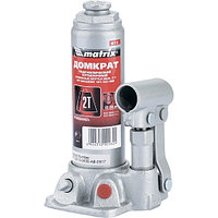Домкрат гидравлический бутылочный, 2 т, h подъема 181–345 мм MATRIX MASTER