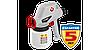 Краскопульт электрическ, ЗУБР КПЭ-100, 0.8 л,краскопер 0-300мл/мин,вязкость краски60 DIN/сек, сопло0.8мм,100Вт