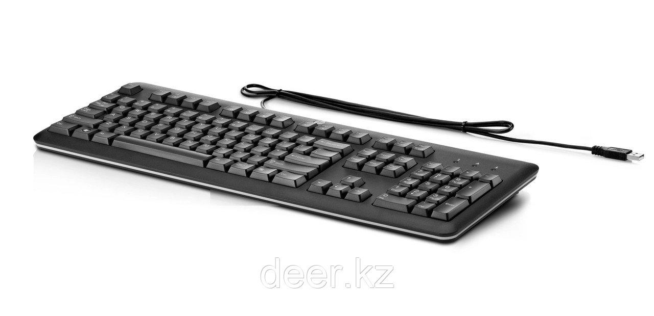 Клавиатура HP QY776AA USB Keyboard Rus/Eng/ Kaz