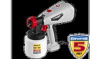 Краскопульт электрич, ЗУБР КПЭ-500,HVLP,0.8л,краскопер 0-800мл/мин,вязкость краски100 DIN/сек,сопло2.6мм,500Вт, фото 1