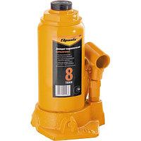 Домкрат гидравлический бутылочный, 8 т, h подъема 200-385 мм SPARTA