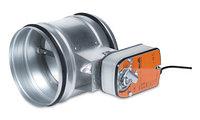 Регулятор расхода воздуха, круглые воздуховоды TUNE-R, фото 1