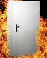 Противопажарные двухстворчатые двери, фото 1