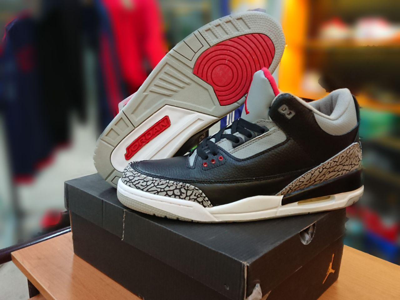 Баскетбольные кроссовки Nike Air jordan 3 ( III ) retro - фото 2