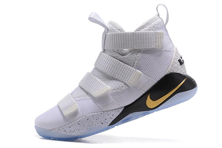 "Баскетбольные кроссовки Nike Lebron James XI (11) Zoom Soldier ""White"""