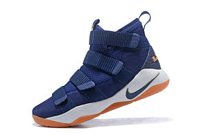 """Баскетбольные кроссовки Nike Lebron James XI (11) Zoom Soldier """"Blue"""", фото 2"""