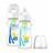 Набор Dr. Brown's из 2-х противоколиковых бутылочек ДЕНЬ/НОЧЬ с ш/г OPTION, 270 мл