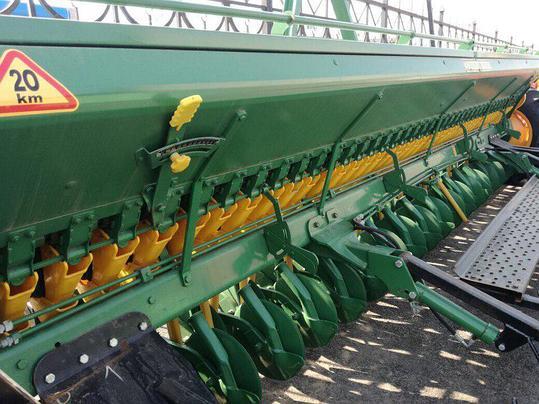 Сеялка зерновая Bozkurt 40 ряд 125мм,пальцевый загортач, транспортное устройство, фото 2
