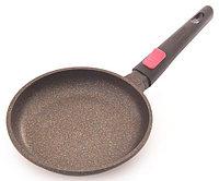 4224 FISSMAN Сковорода для жарки REBUSTO 20x4,0 см со съемной ручкой (алюминий с антипригарным покрытием)