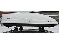 Автомобильный бокс KOFFER 430L белый глянец, фото 1