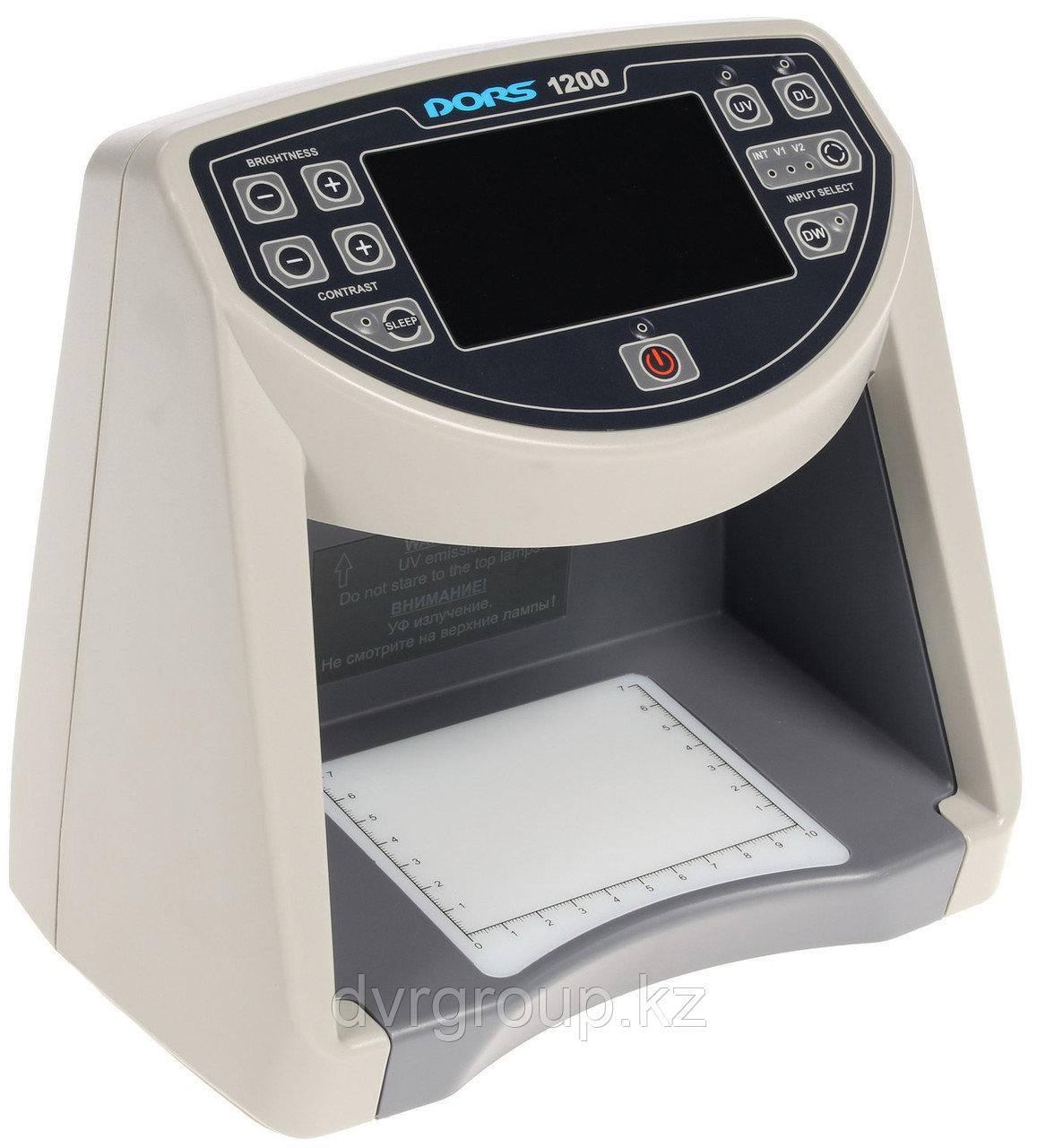 Детектор банкнот DORS 1200, универсальный просмотровый