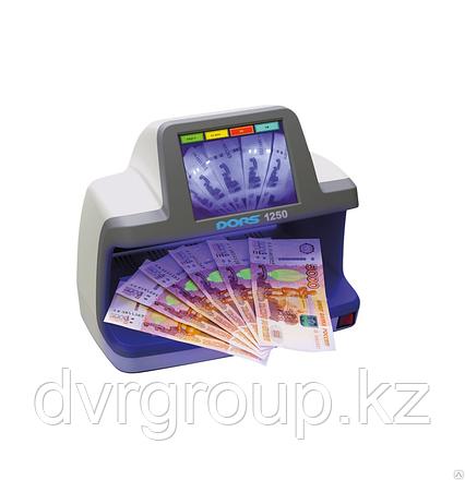 Детектор банкнот DORS 1250, универсальный просмотровый, фото 2
