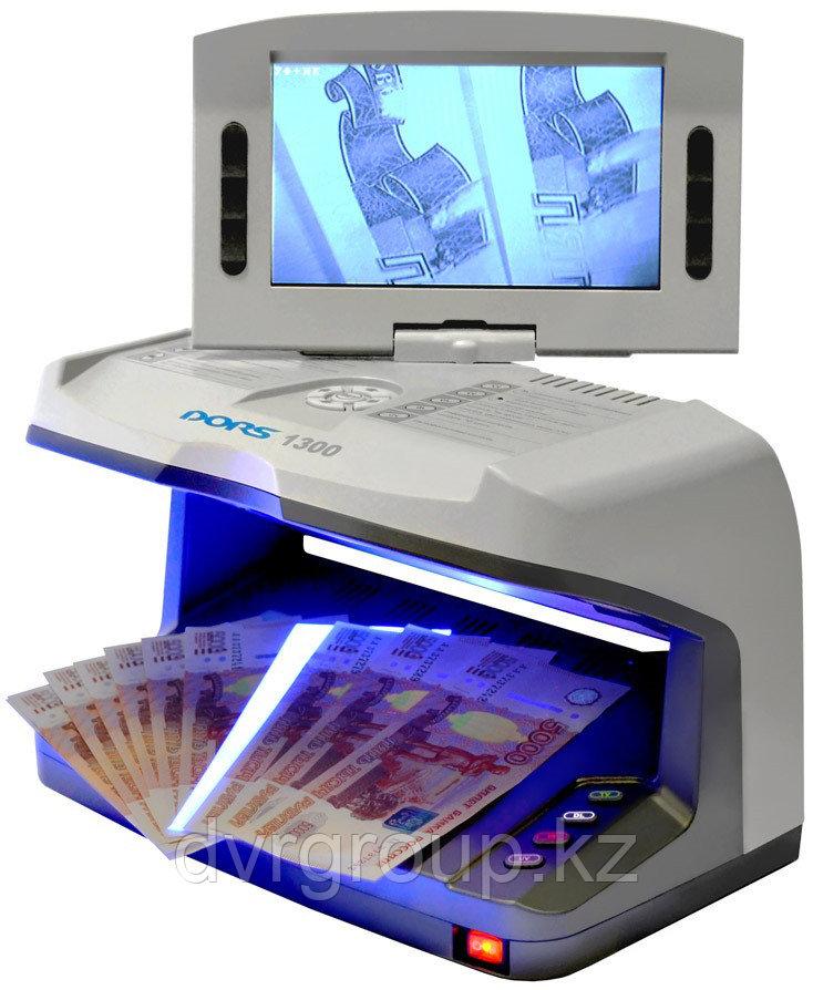 Детектор банкнот DORS 1300, универсальный просмотровый